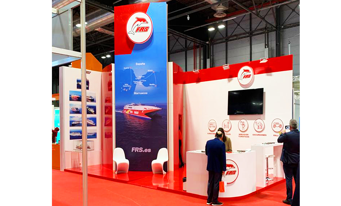 2FRS. Stand para Fitur 2020.