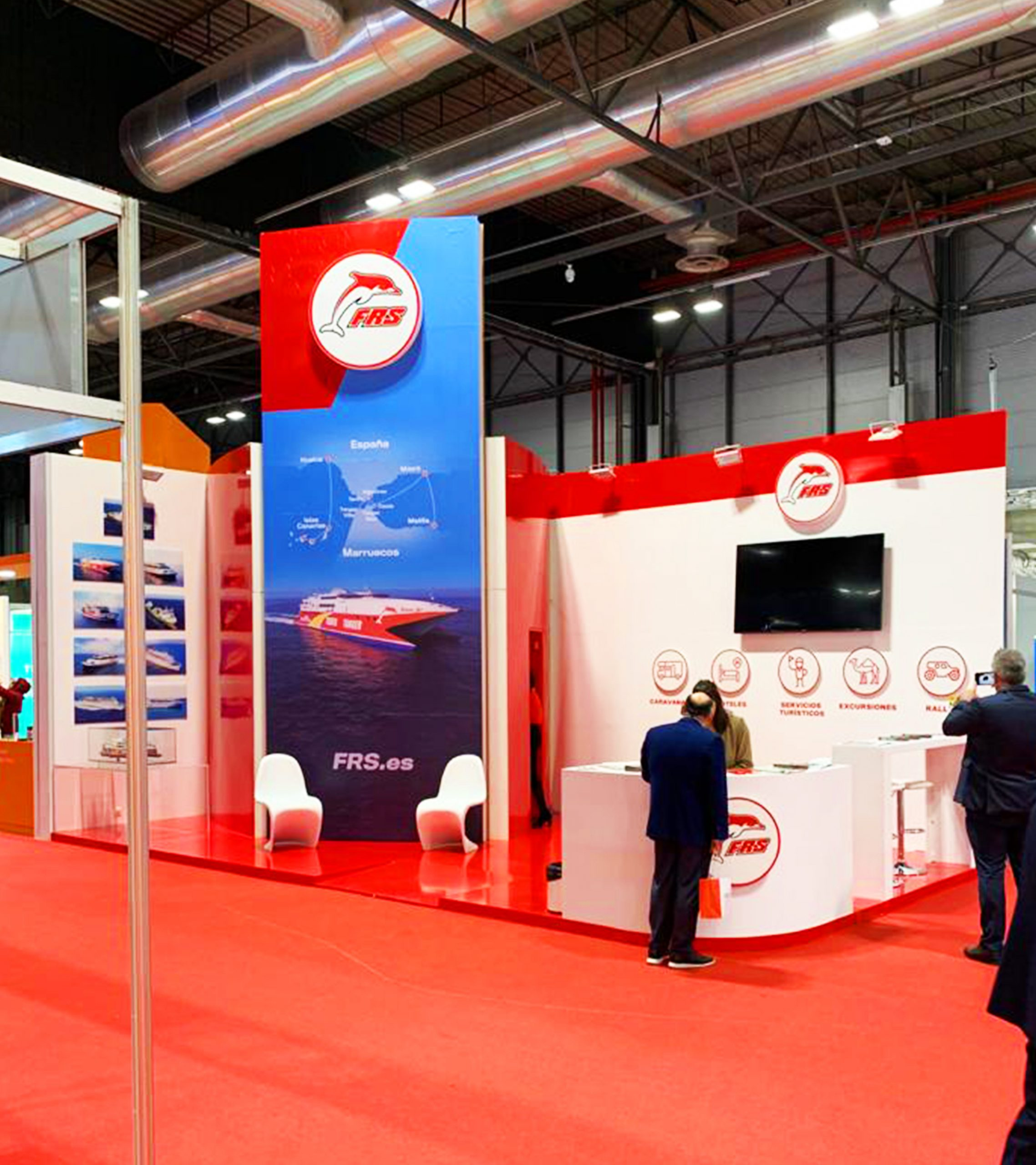 1FRS. Stand para Fitur 2020.