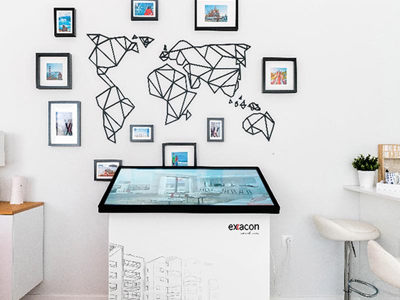 Tecnología exxacon para proyectos inmobiliarios.