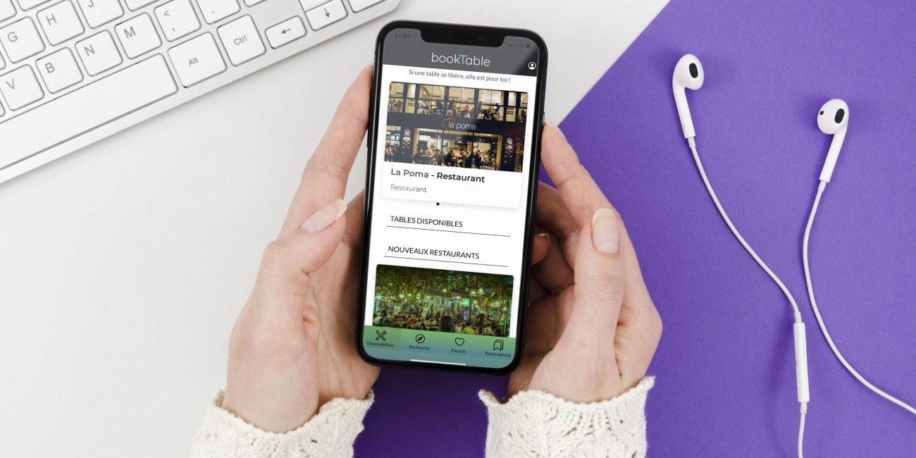 Aplicación móvil Booktable